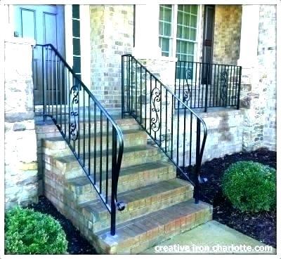Wrought Iron Porch Railings Cost Railing Steel Metal Creative Designs 7 Rod Outdoor Stair Ki Iron Railings Outdoor Railings Outdoor Wrought Iron Porch Railings