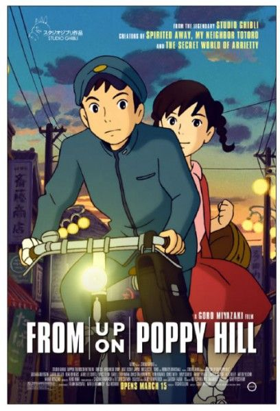 Image result for from up on poppy hill poster