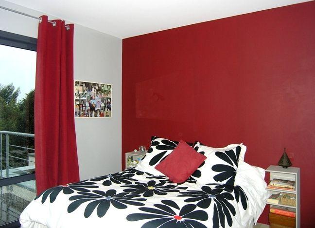 Chambre bordeaux meuble relooker pinterest chambre bordeaux selon moi - Chambre couleur bordeaux ...