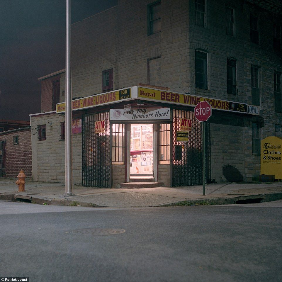 Baltimore Nighttime Photographer Captures Rarely Seen Side