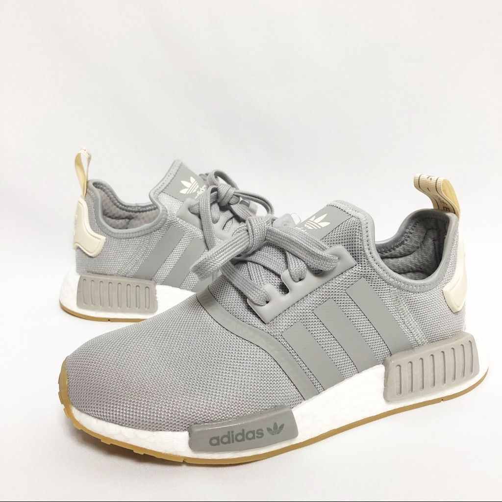 adidas Shoes Adidas Nmd R1 Color Silver/White Size