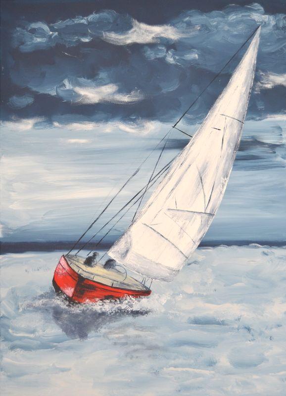 voilier gustave la mer marines pinterest voilier bateaux et peinture. Black Bedroom Furniture Sets. Home Design Ideas