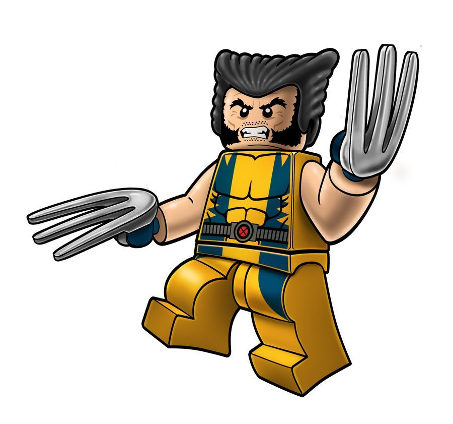 Marvel Lego Packaging Wolverine by RobKing21 on