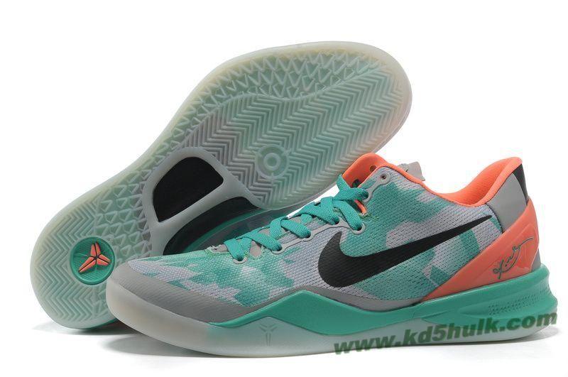 UK sale Men Nike Zoom Kobe Viii 8 Elite Green Yellow Shoes