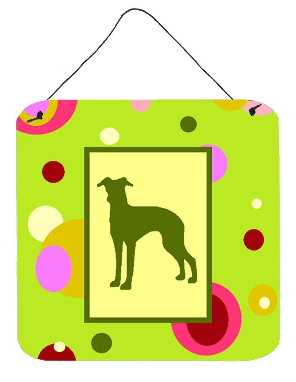 Italian Greyhound Aluminium Metal Wall or Door Hanging Prints | Door ...