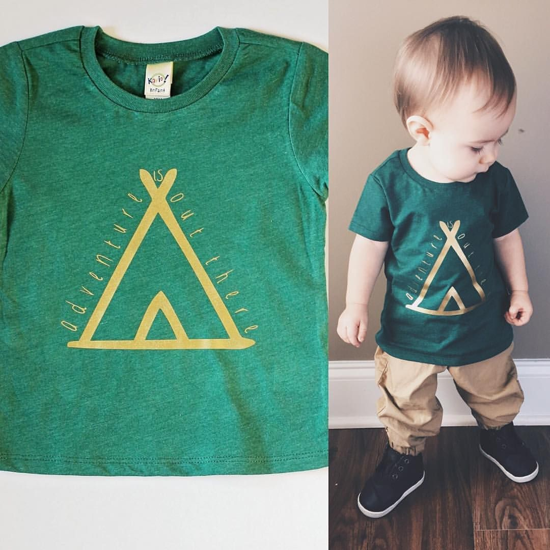 Now listed  Adventure is out there! For all of your adventurers  I'm loving this one!! There are three different color combos to choose from but this green is so great!! #CaydenAndCo #babyfashion #shopsmall #shophandmade #shopsmallbaby #mamamaker #etsy #etsyshop #etsyforlittles #toddlerootd #toddlerswag #toddlerfashion #adventure #adventureisoutthere