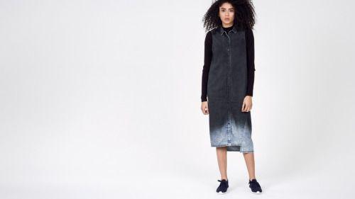 bleach ombre shirt dress  nu goth punk grunge hipster goth fachin dress top ombre nightmarepunk wildfang