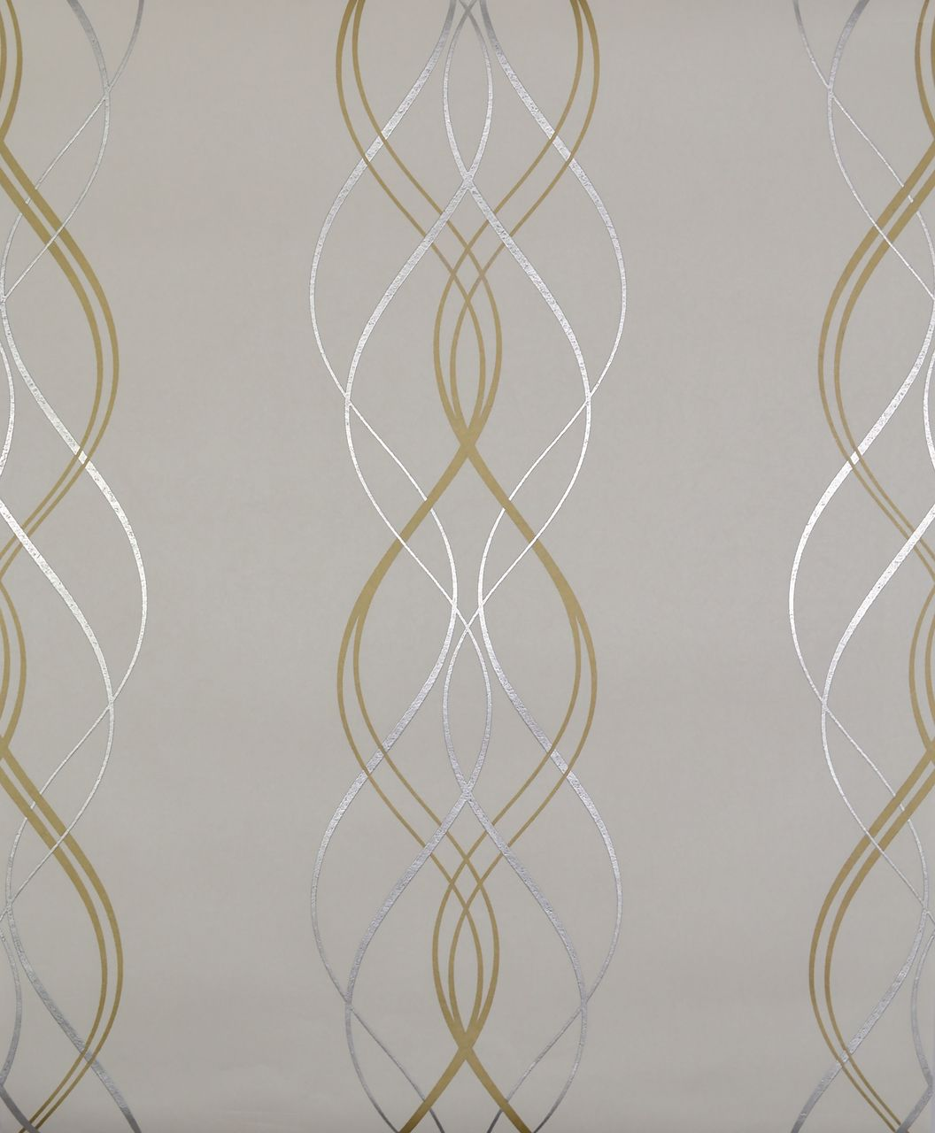 York Wallcoverings Nw3549 Modern Metals Aurora Wallpaper