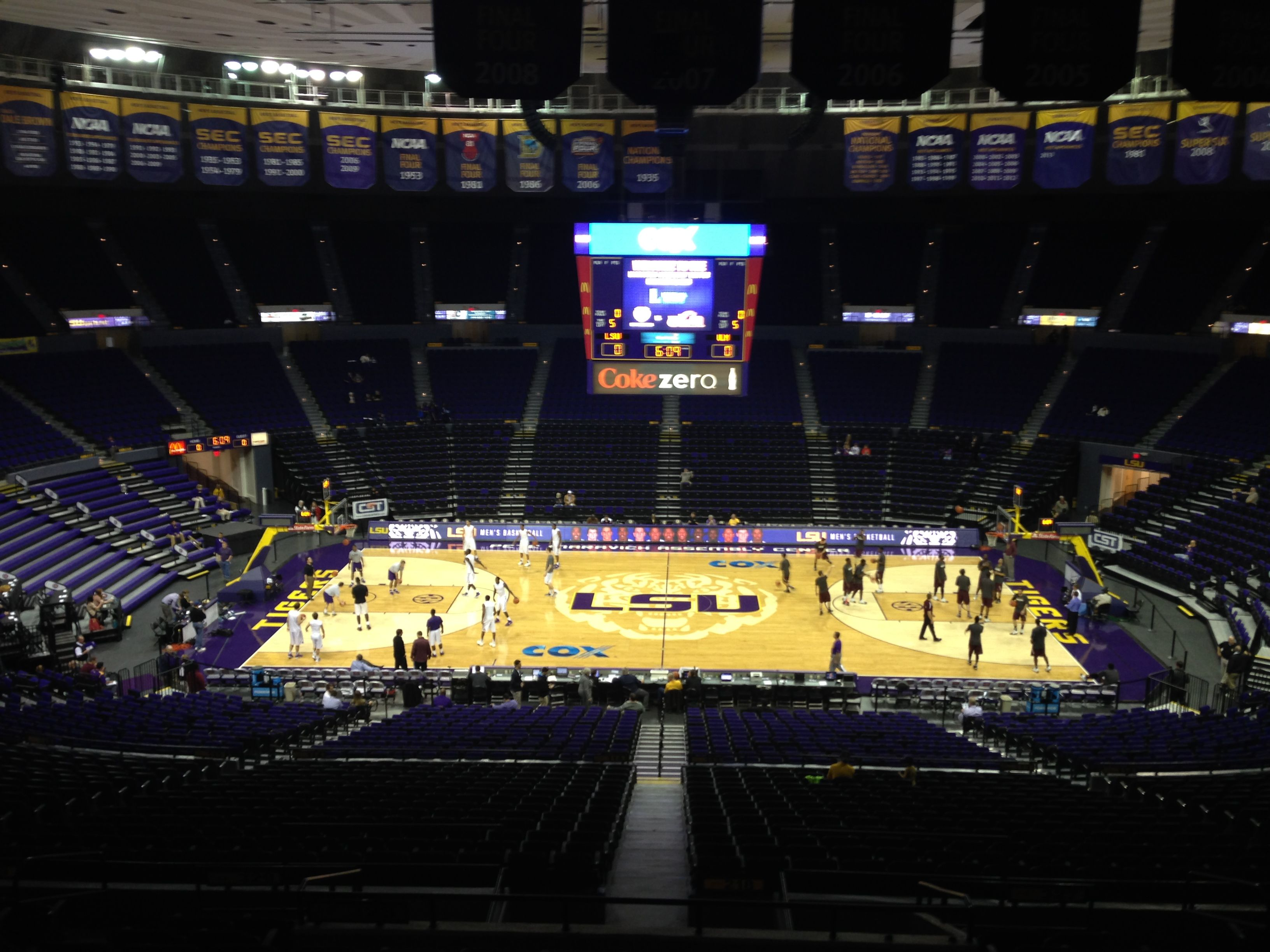 Inside The Pmac Court Basketball Court Basketball