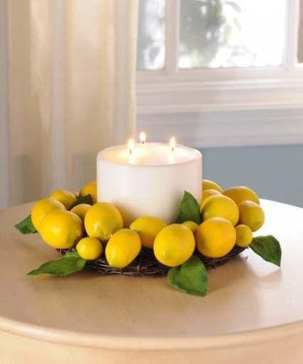 43 Ideas For Kitchen Table Centerpiece Ideas Lemon