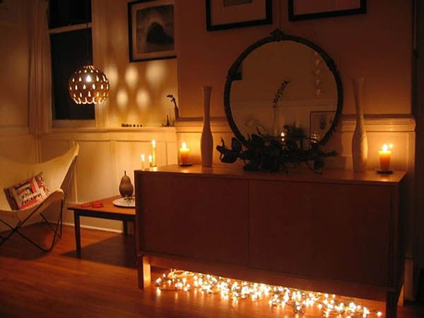 66 inspiring ideas for christmas lights in the bedroom - Bedroom Ideas Christmas Lights