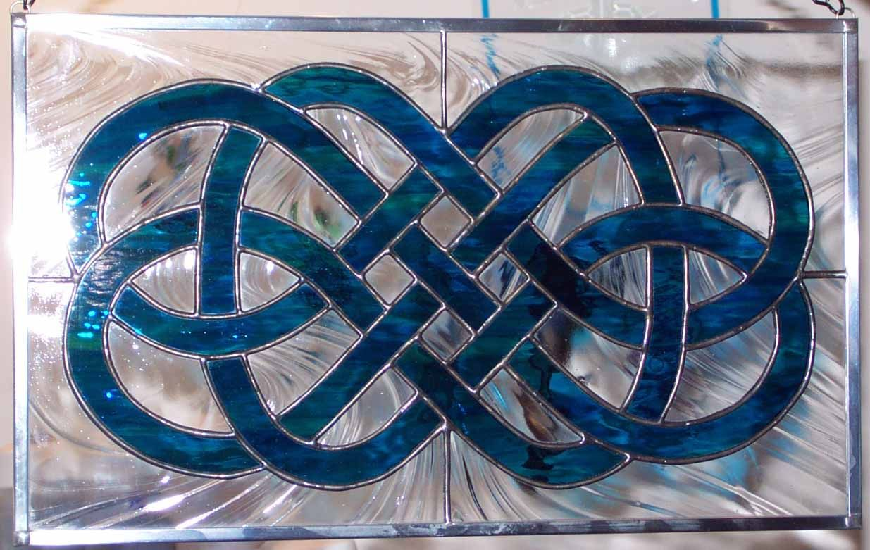 Stained Glass Celtic Knot by lunarisingart.deviantart.com on ...