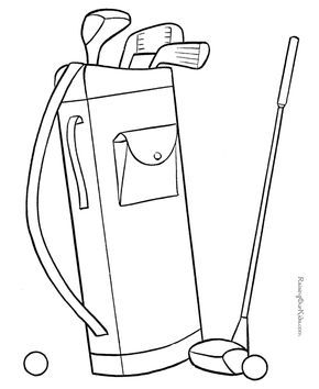 fun fathers day coloring page golf pinterest fathers day rh pinterest com