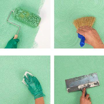 Diy painting inside house