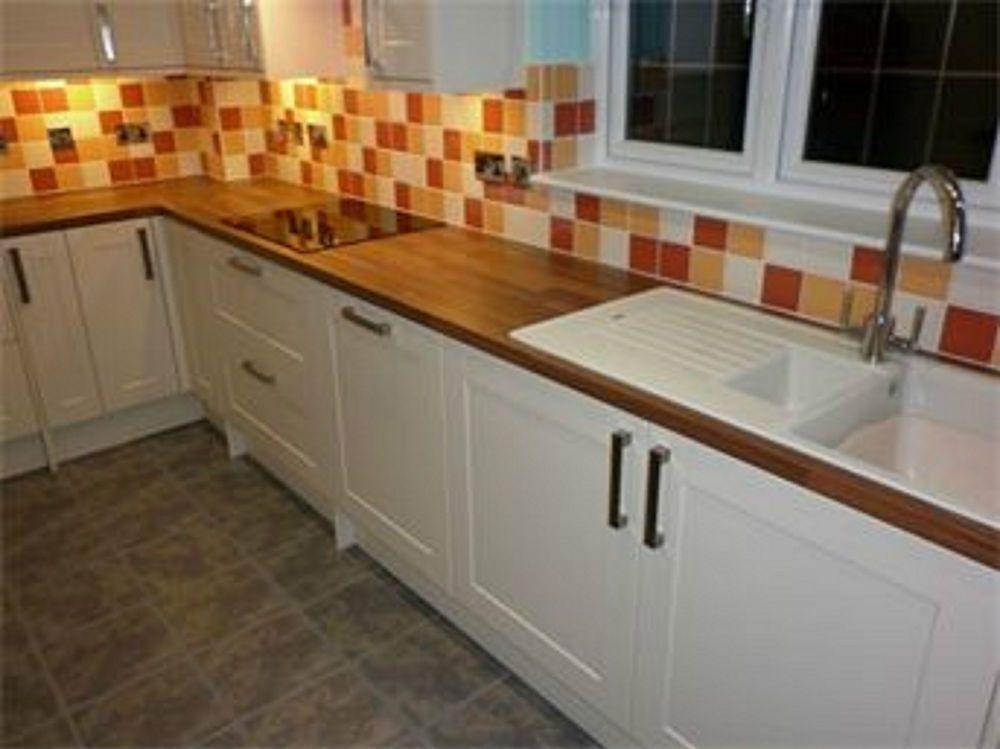 Matt Cream Shaker Kitchen Unit Cupboard Doors Drawers Fit Howdens