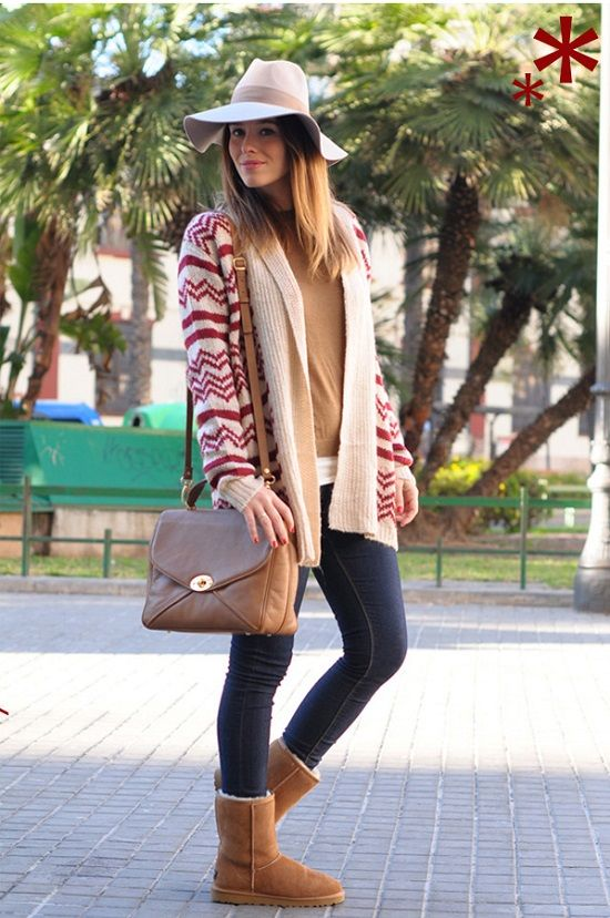 362edbecc04 Inspiration: UGG Boots Style | Short UGG style | Ugg boots outfit ...