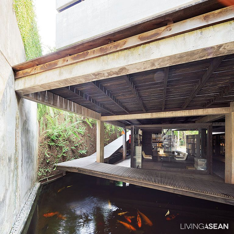 Living Room Translate To Indo: Modern Tropical Home In Indonesia // Living ASEAN