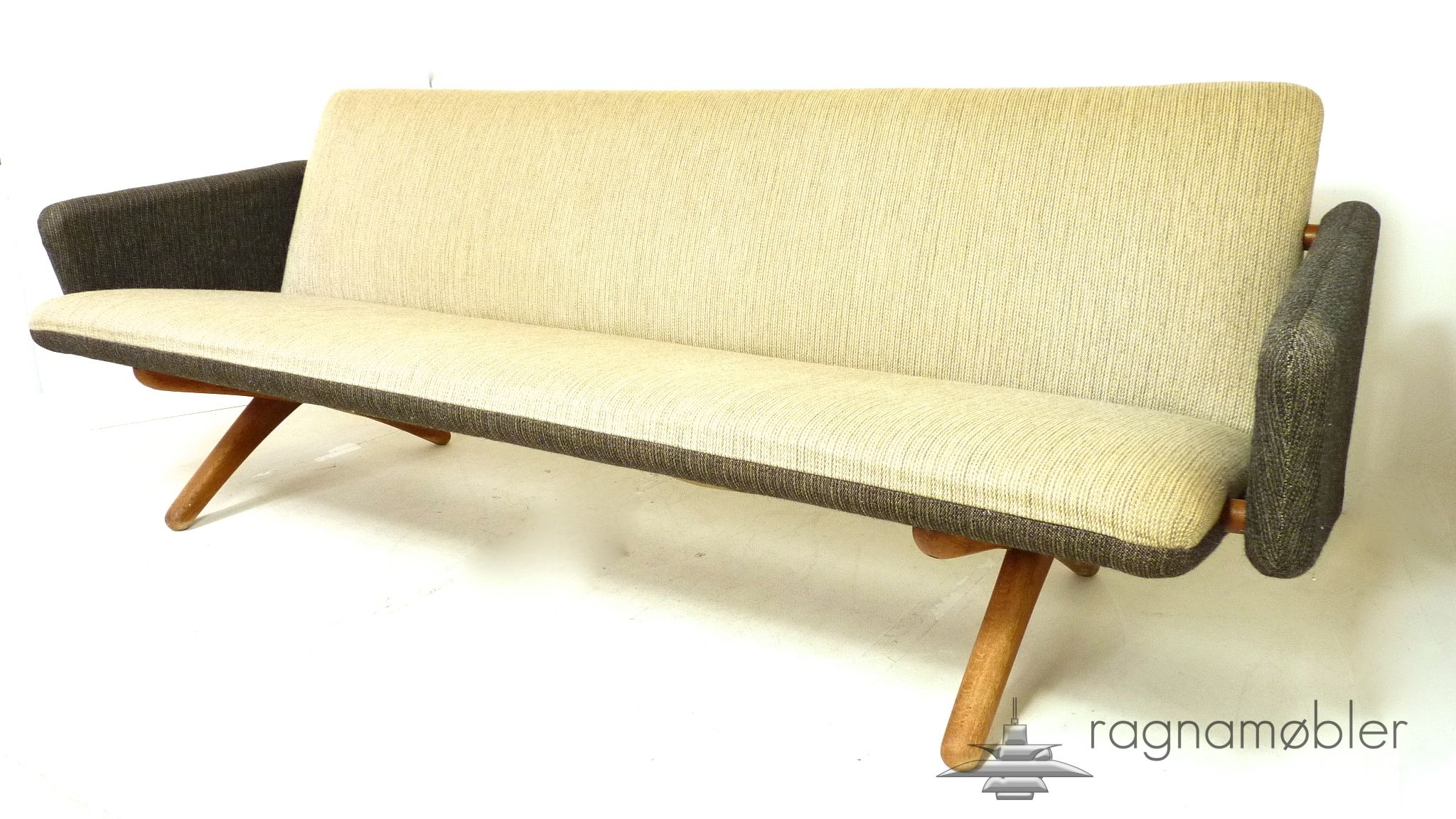 incredible and unique illum wikkels¸ sofa danish midcentury