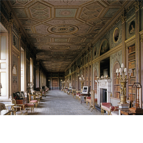 History Of The Interior Design: A Residence Of The Duke Of Northumberland