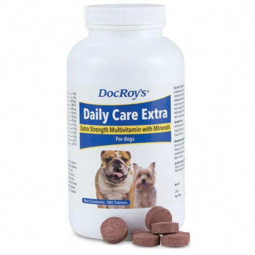 Doc Roy's Daily Care Extra Canine is the best dog ...