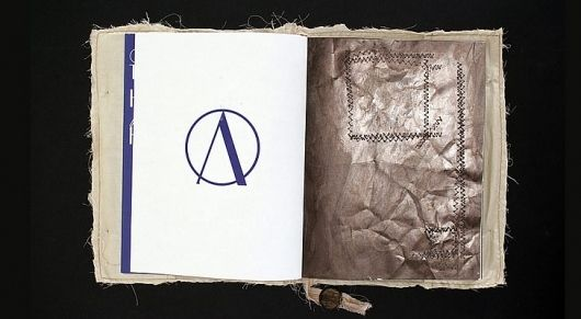 Art Project - A creative book project by Johannes König and Jan Voss   Portfolio von Melville Brand Design