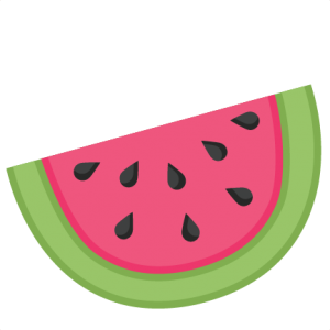watermelon svg scrapbook cut file cute clipart files for silhouette rh pinterest co uk Watermelon Slice Clip Art free watermelon clip art images