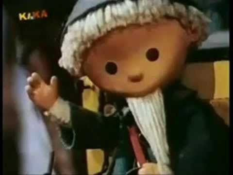 Песочный человечек - Sandmann (коллаж) Broadcasted in DDR.