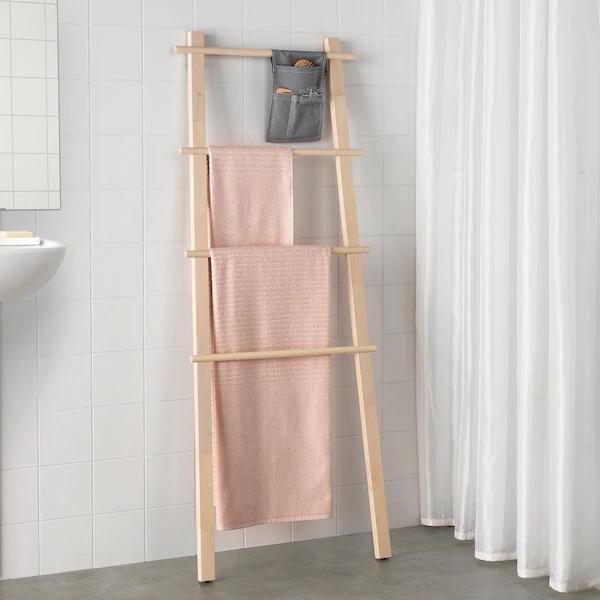 Photo of VILTO Towel stand – birch – IKEA
