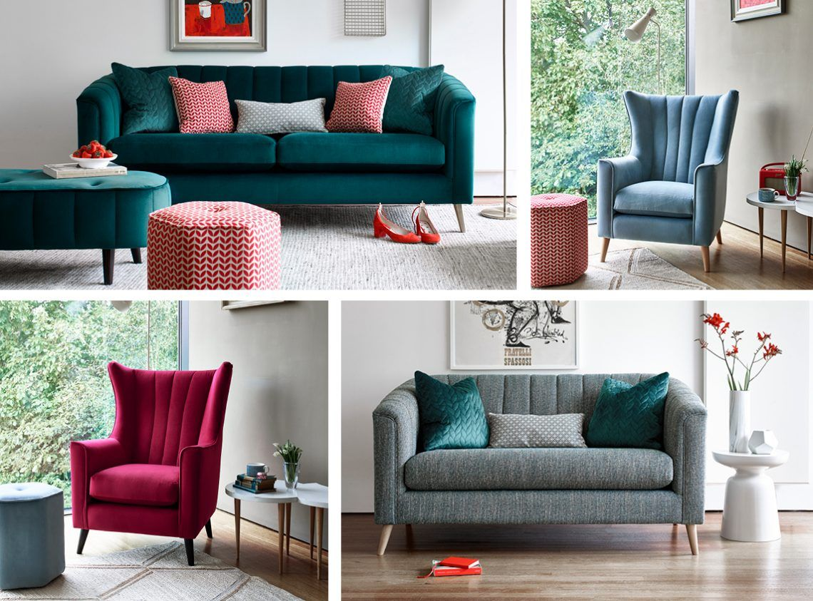 Chester Sofa Collection Art Deco Style With Maximum Comfort A Statement Piece With Various Colour And Fabric Options Including Lu Sofa Pillows Room