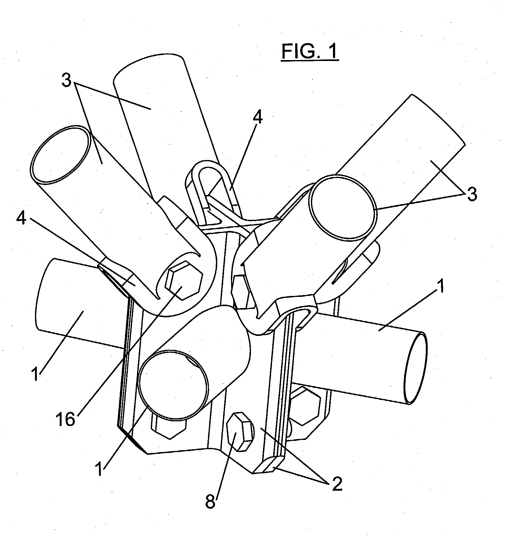Patent ep1522639a1 connection system between bars of space frames patents