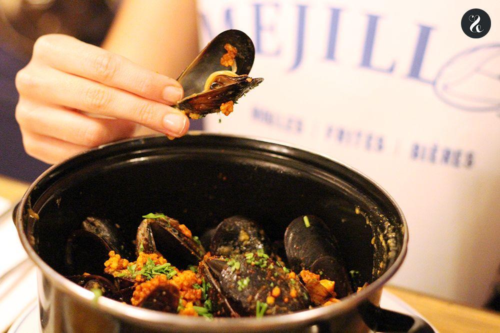 mejillones curry Mejillón Madrid