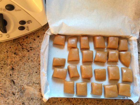 Karamellbonbons Karamell Bonbons #konfektjul