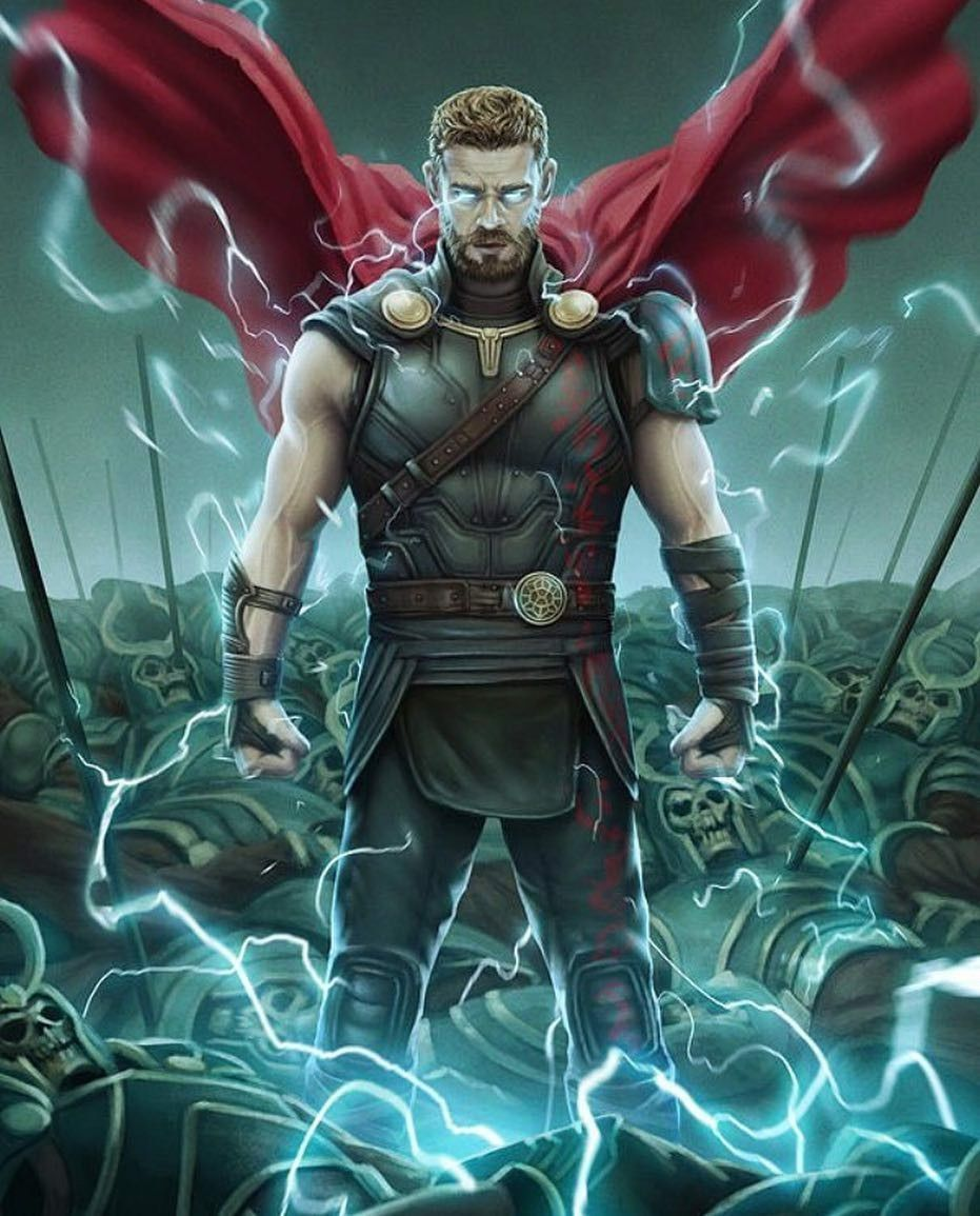 Thor wallpaper (Ragnarok) Marvel Pinterest Marvel