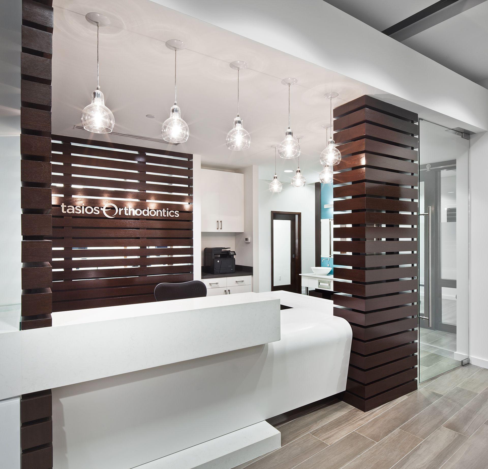 Office Ideas Reception: VicMod Transformation