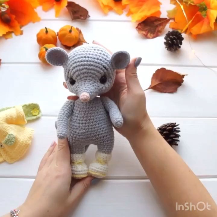 Crochet mouse pattern. Amigurumi animal pattern cute mouse | Etsy - Welcome!