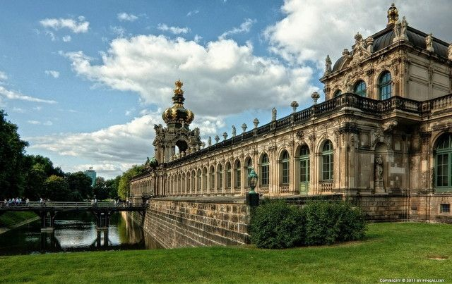 Zwinger Wikipedia The Free Encyclopedia Dresden German Architecture Visit Germany