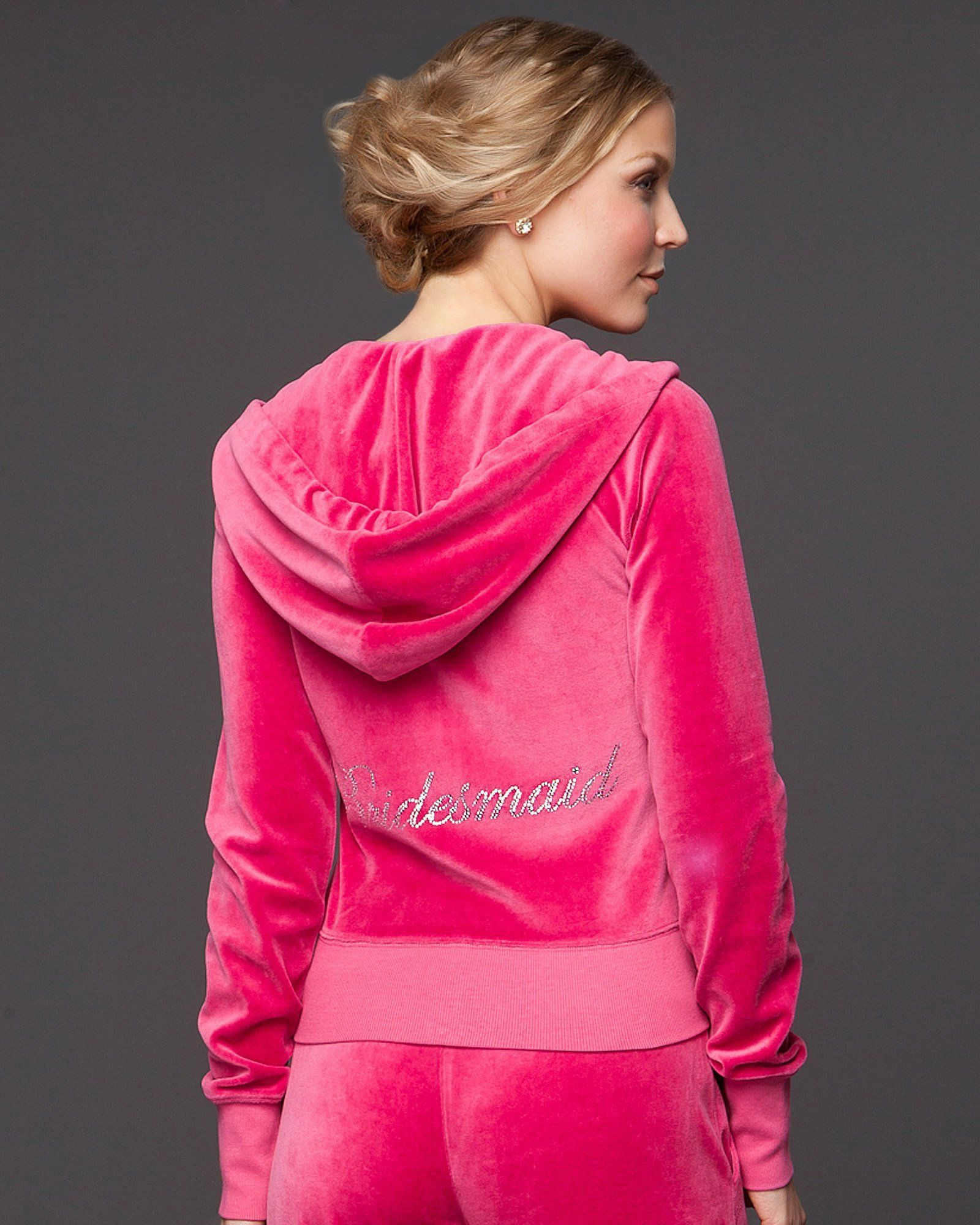 Bridesmaid Sweatsuits for the bridesmaids during bachelorette ...