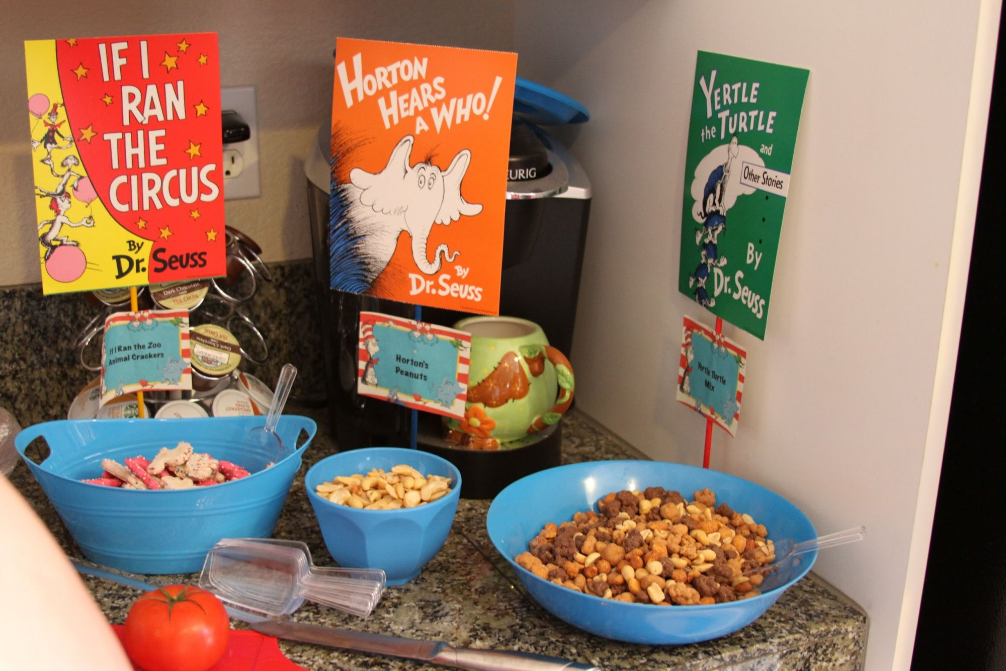 Dr Seuss Birthday Party Food Ideas If I Ran The