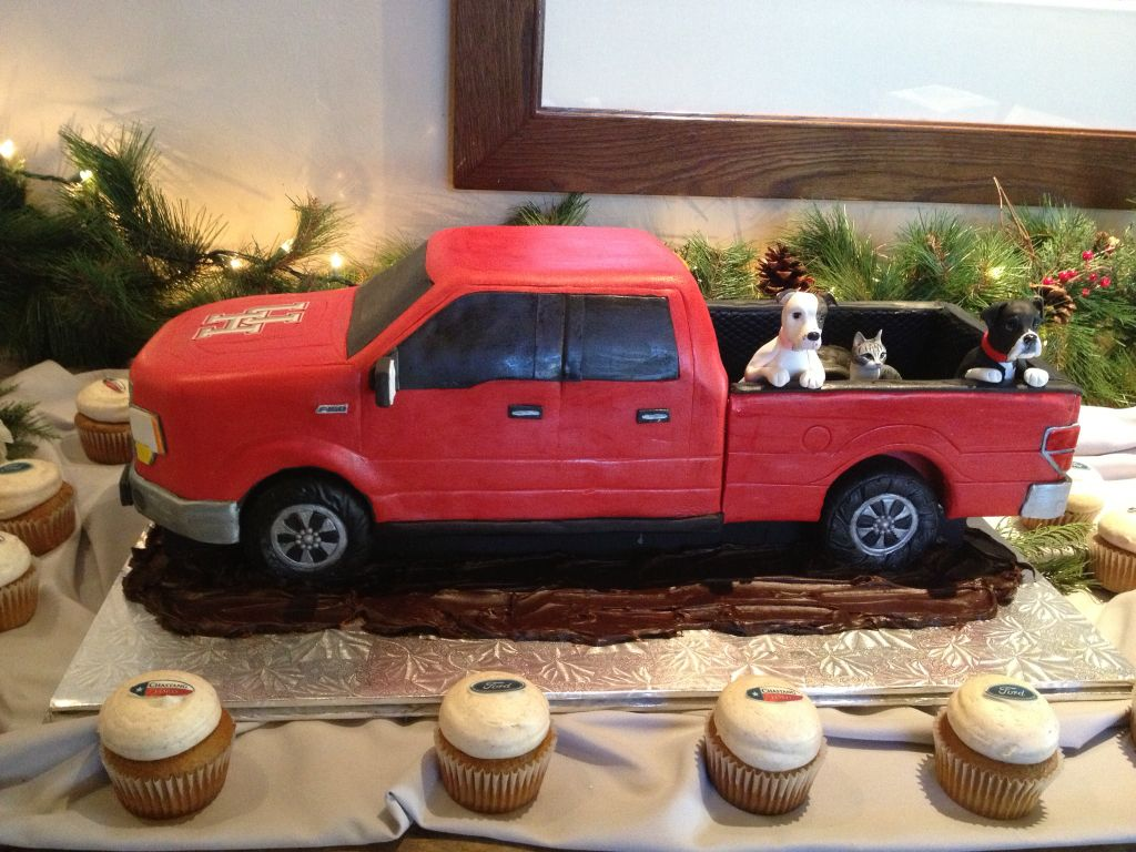 ford truck wedding cake topper ford f150 grooms cake only in my dreams 14404