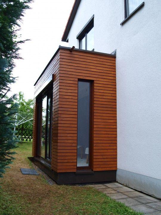 anbau an ein einfamilienhaus windfang pinterest anbau einfamilienhaus und windfang. Black Bedroom Furniture Sets. Home Design Ideas