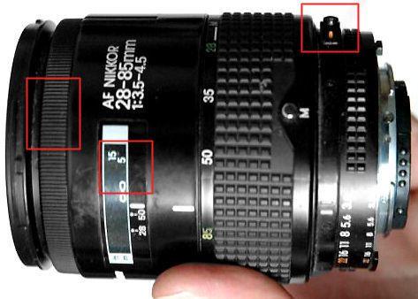 Af Zoom Nikkor 28 85mm F 3 5 4 5 Ai S Lens Group Nikon Lenses Nikon Lens