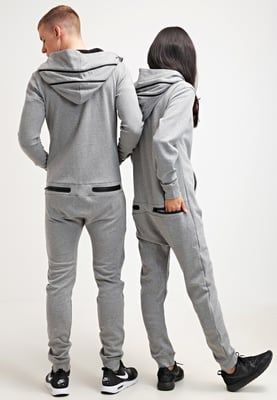 Onepiece COCOON - Jumpsuit - grey melange - Zalando.de