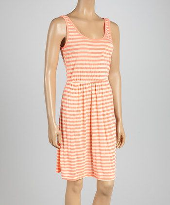Another cute dress for vacation!! Striped midi dress