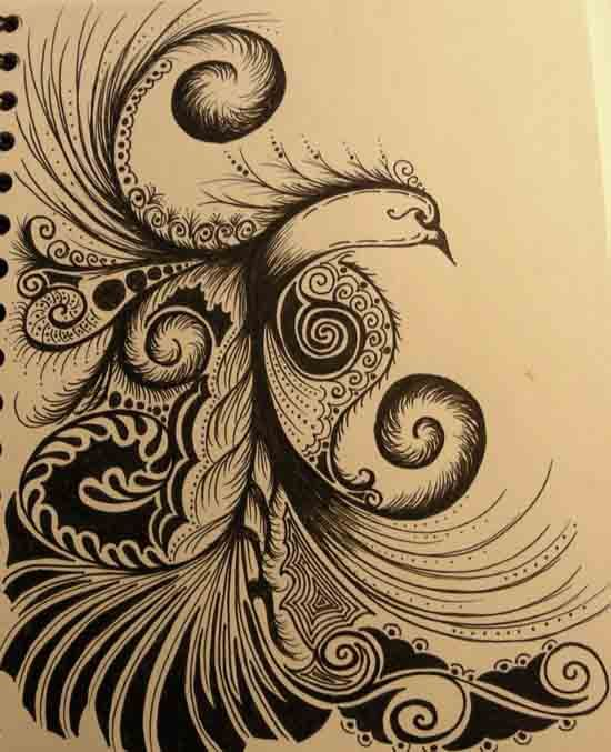 Very Reminiscent Of Russian Folk Art Bringing Some Heritage Into My Tattoo Plans