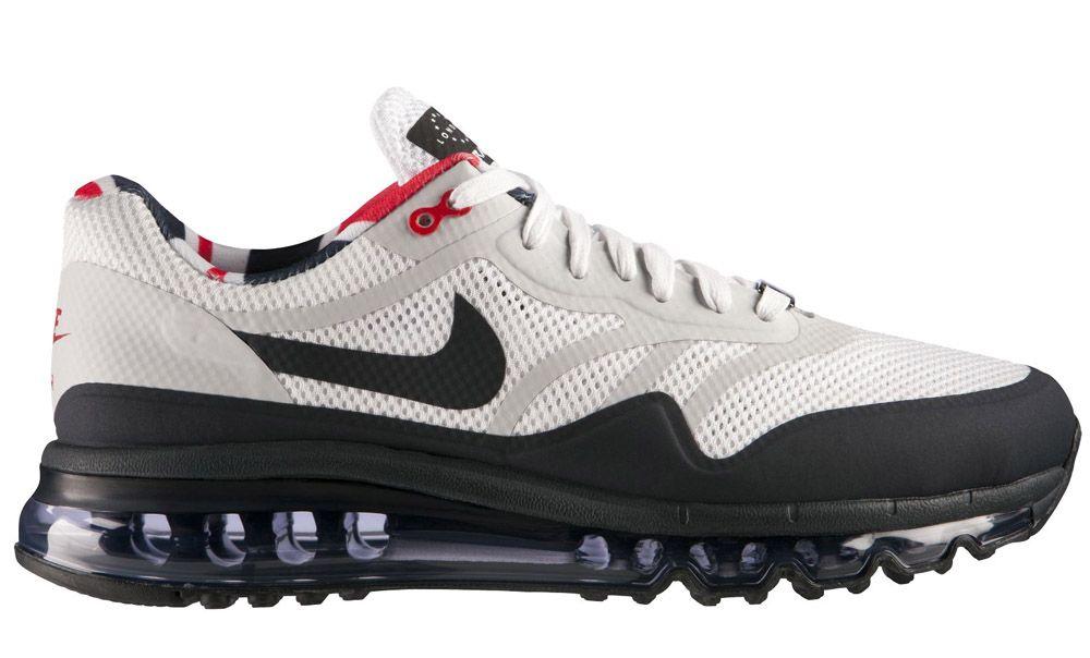 mens nike air max+ 2013 london running shoes