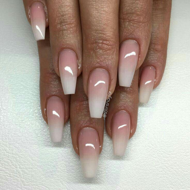 Pin by Simona Ilieva on Nails | Pinterest | Ballerina nails, Nail ...