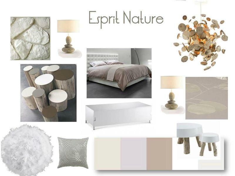 Planche d co chambre 2 moodboards in 2019 deco d co chambre nature deco chambre - Deco chambre nature ...