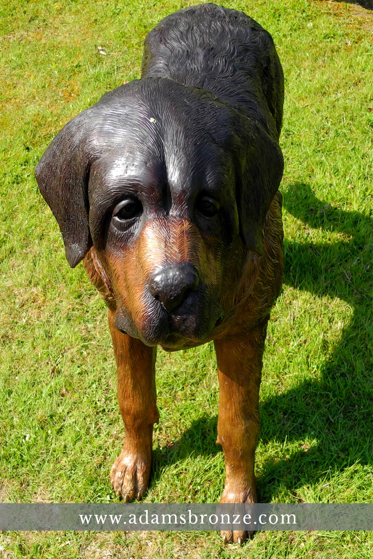 Bronze Dog Statues. Click To See These Amazing Lifelike Animal Garden  Statues Cast In Bronze