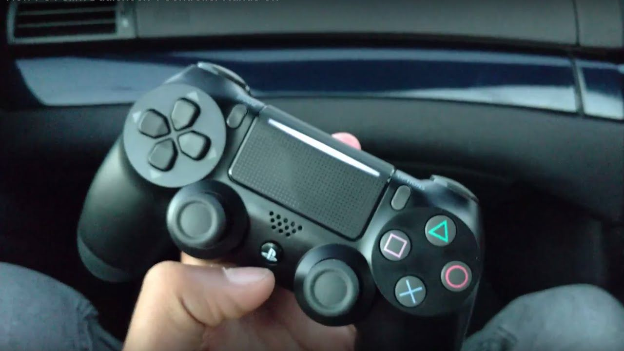Video claims to show a redesigned PS4 slim controller | game