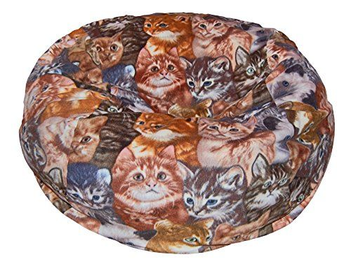 Ahh Products Kittens Anti Pill Fleece Washable Large Bean